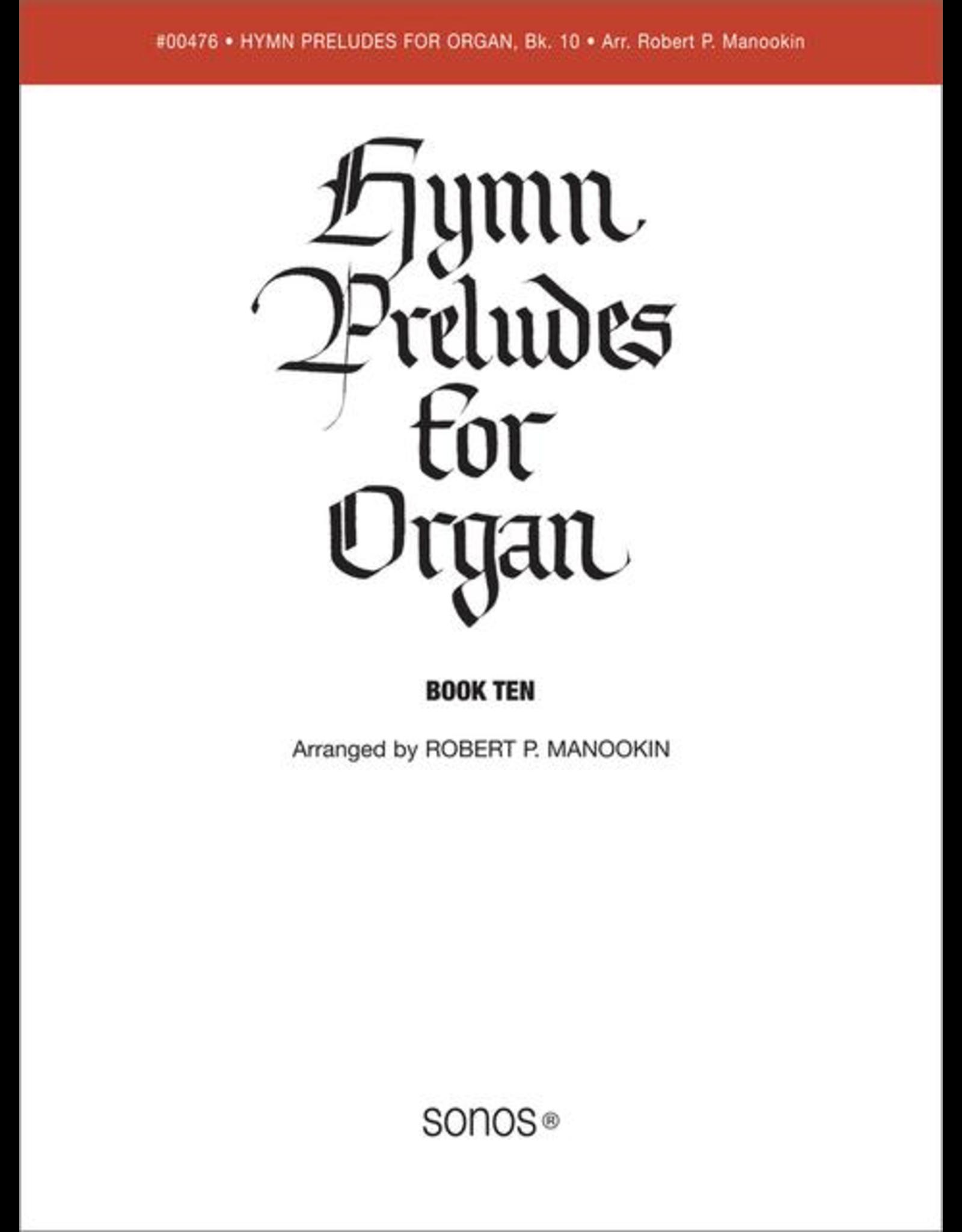 Jackman Music Hymn Preludes for Organ Book 10 (Christmas) arr. Robert P. Manookin