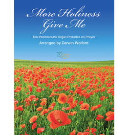 Jackman Music More Holiness Give Me - Organ Preludes on Prayer arr. Darwin Wolford