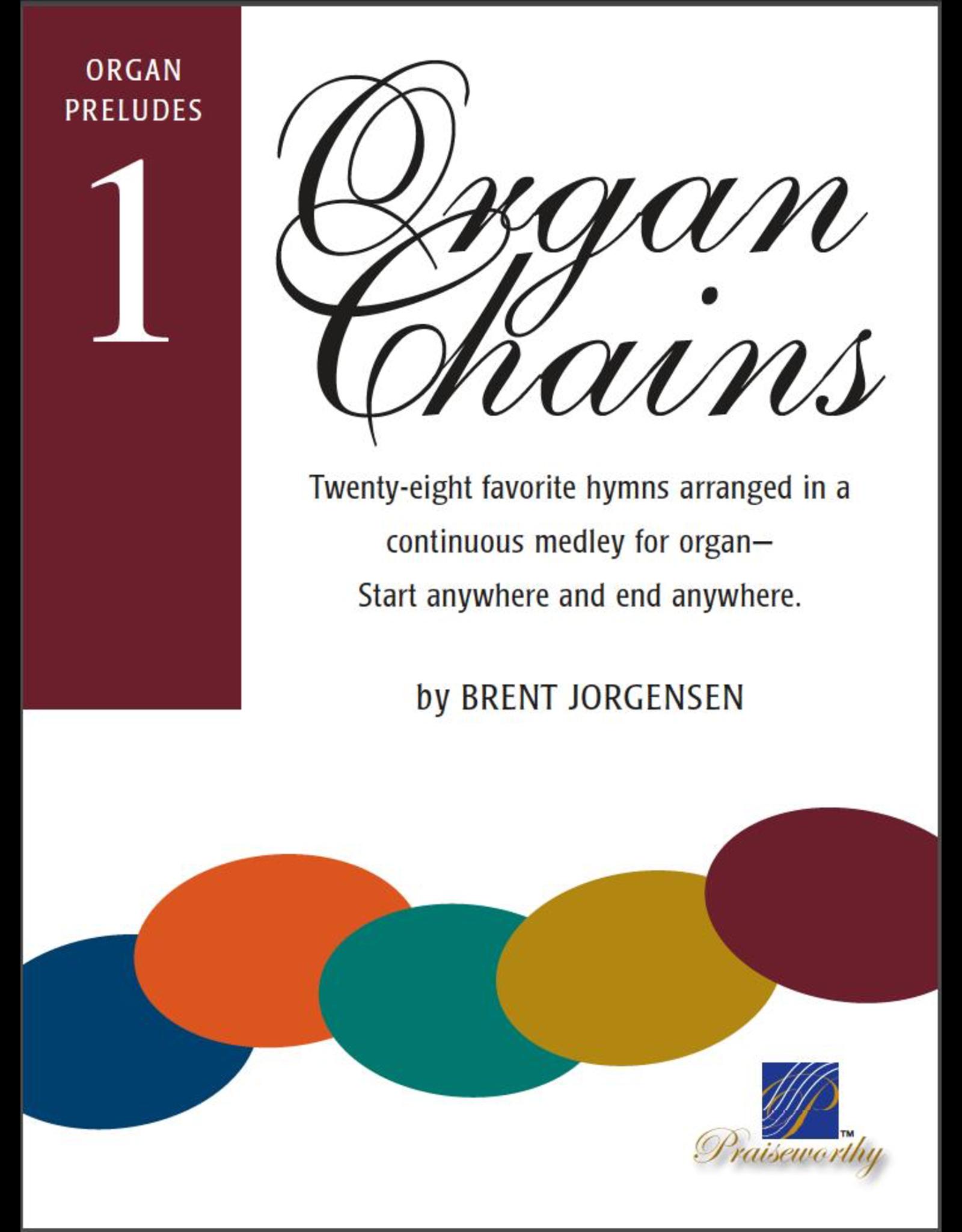 Jackman Music Organ Chains Book 1 Brent Jorgensen