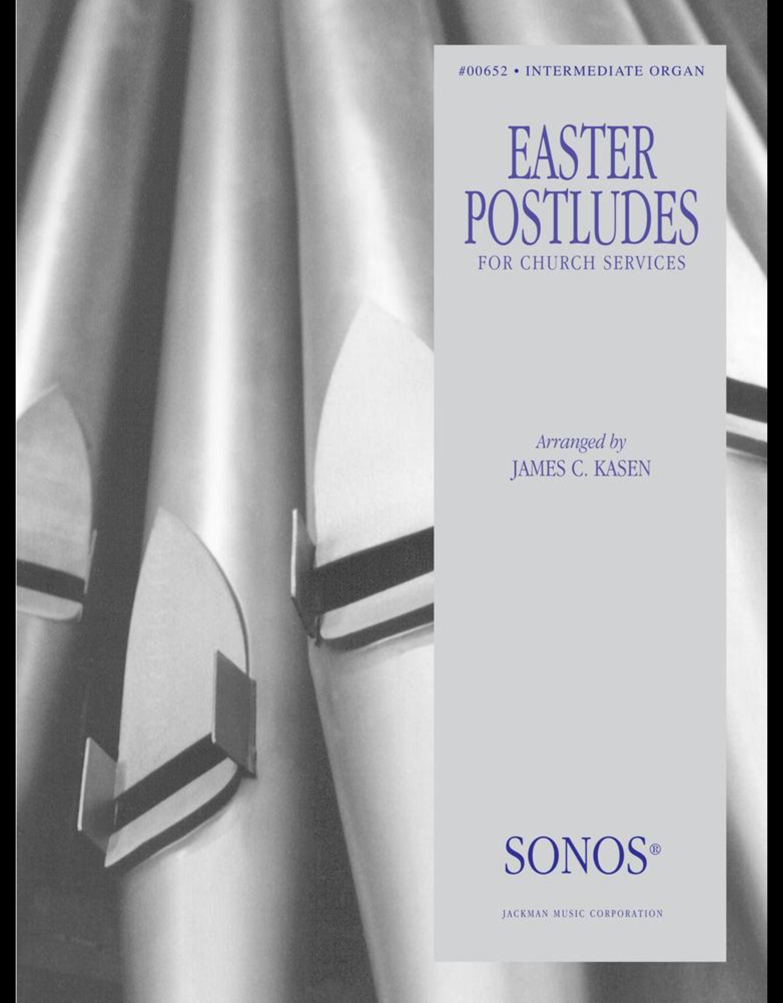 Jackman Music Easter Organ Postludes for Church Services arr. James C. Kasen