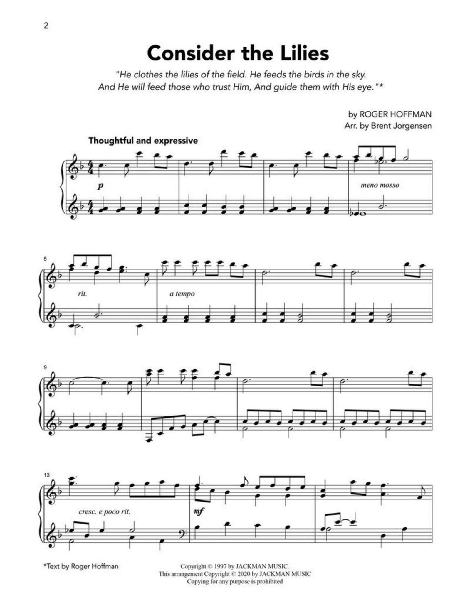 Jackman Music Latter-day Saint Piano Solos Vol. 1 arr. Brent Jorgensen