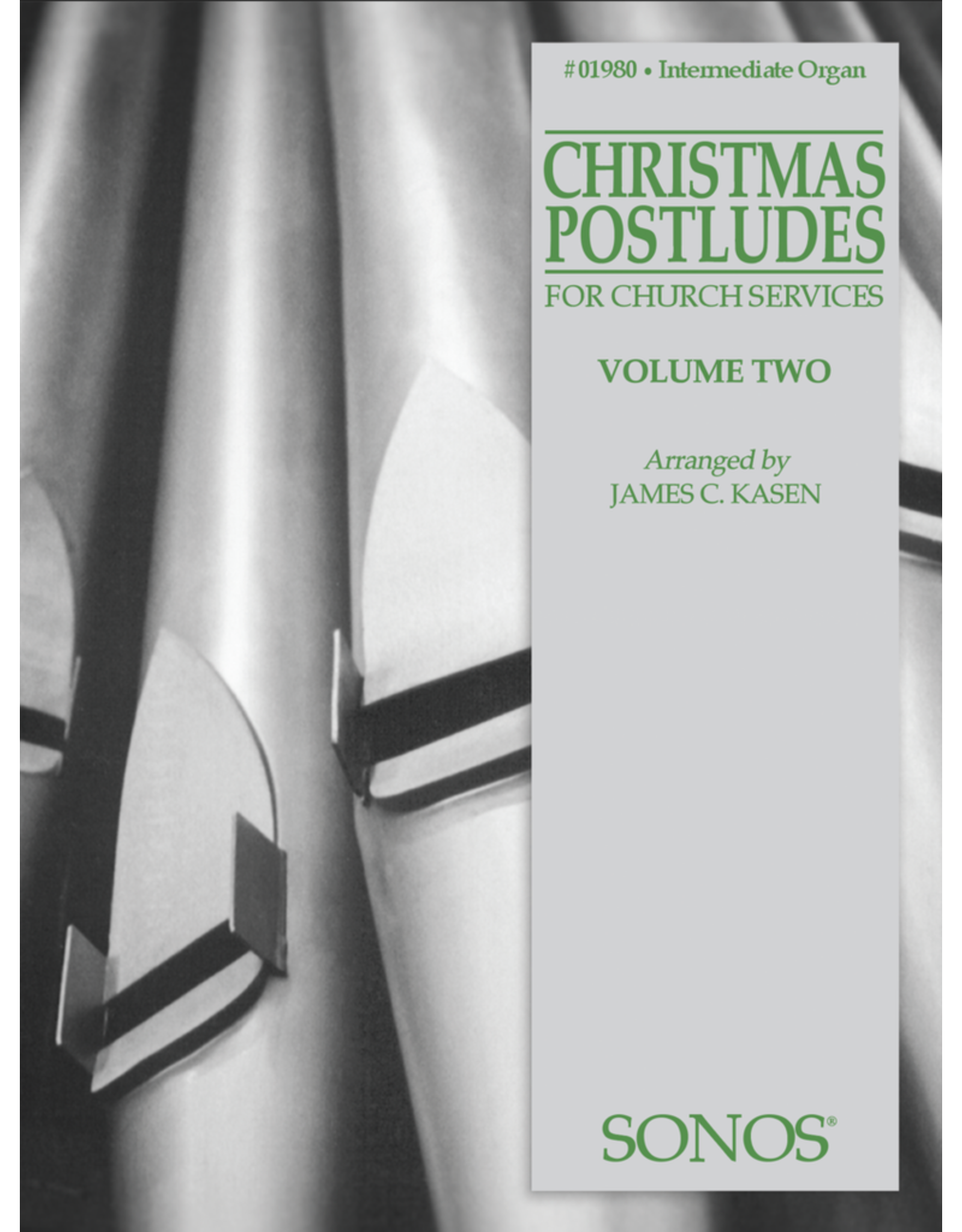 Jackman Music Christmas Postludes Vol. 2 for Organ arr. James C. Kasen