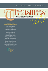 Jackman Music Treasures Vol. 1 - Intermediate LDS Piano Primary Songs arr. Kristen Allred