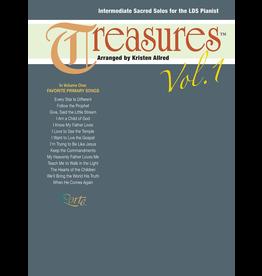 Jackman Music Treasures Vol. 1 - 14 Favorite Primary Songs for Intermediate LDS Piano arr. Kristen Allred