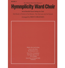 Jackman Music Hymnplicity Ward Choir Book 8