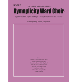 Jackman Music Hymnplicity Ward Choir Book 3