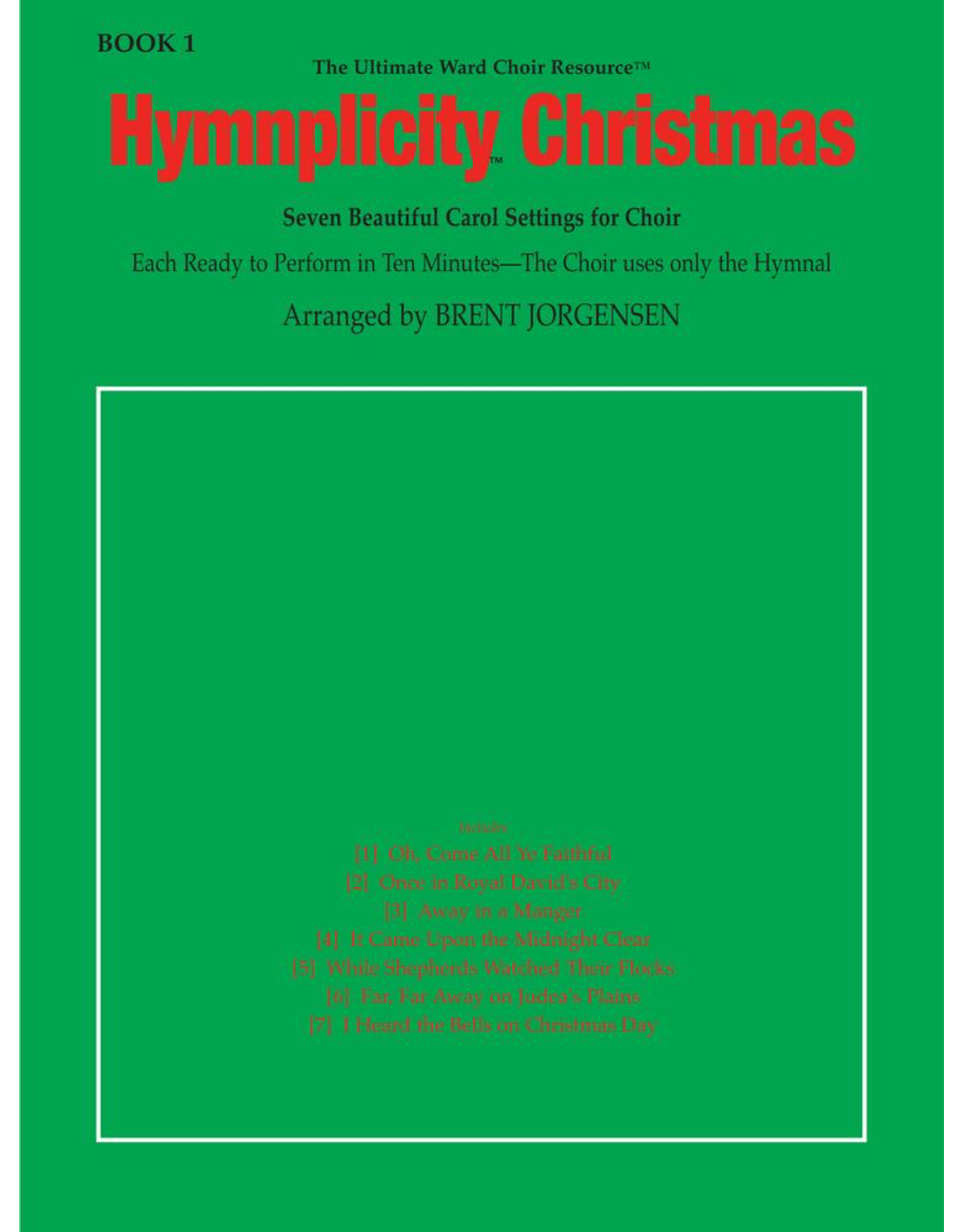 Jackman Music Hymnplicity Christmas, Book 1