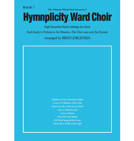 Jackman Music Hymnplicity Ward Choir Book 7