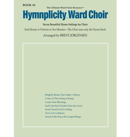 Jackman Music Hymnplicity Ward Choir Book 10