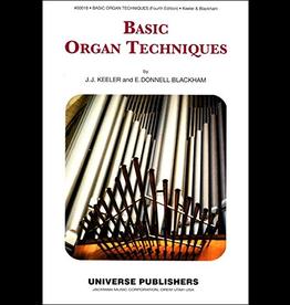 Jackman Music Basic Organ Techniques Organ Method Book by Keeler and Blackham