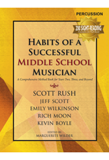 GIA Publications Habits of a Successful Middle School Musician-Percussion