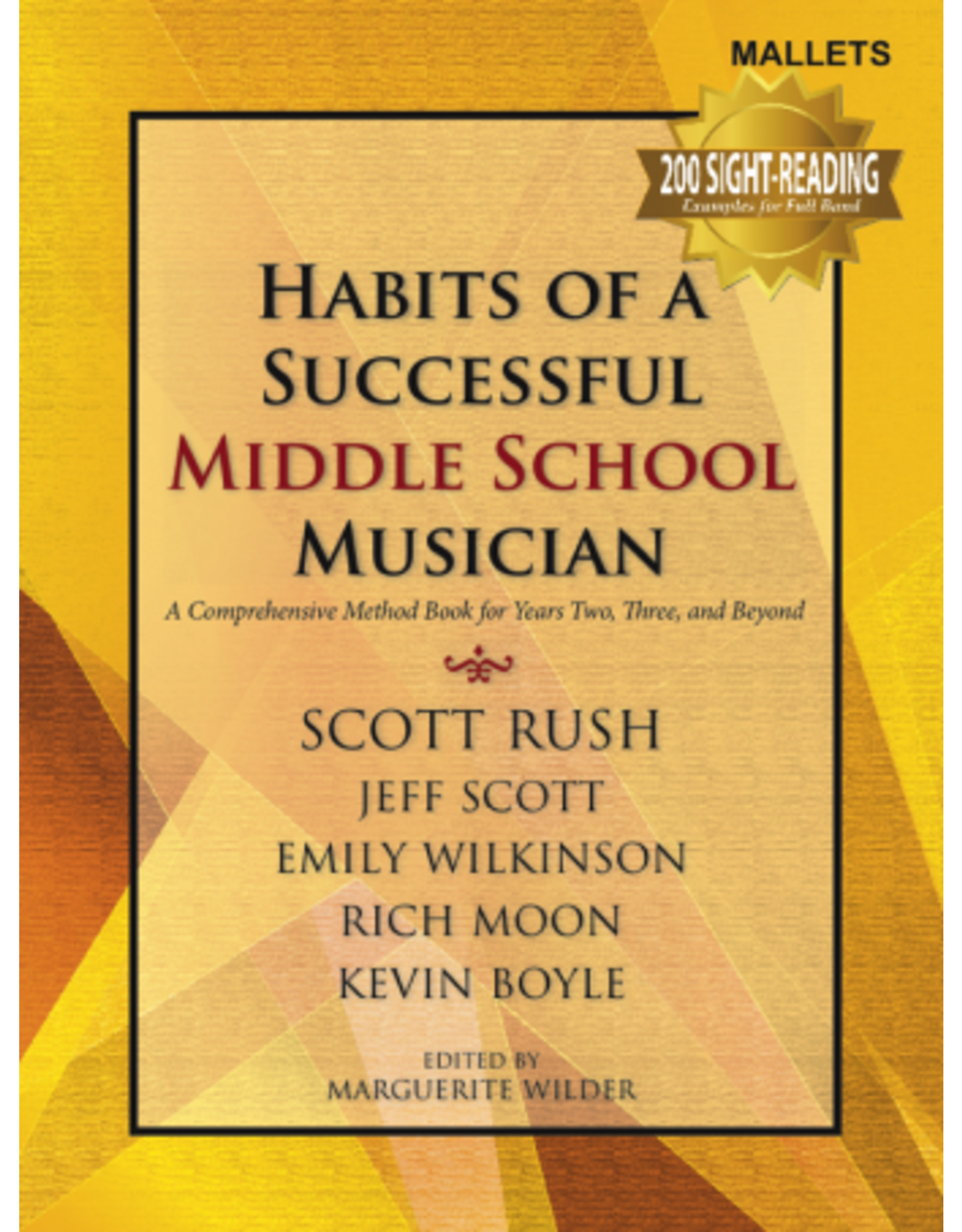 GIA Publications Habits of a Successful Middle School Musician-Mallets