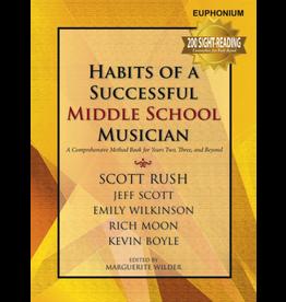GIA Publications Habits of a Successful Middle School Musician-Euphonium (Baritone B.C.)