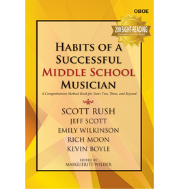GIA Publications Habits of a Successful Middle School Musician-Oboe