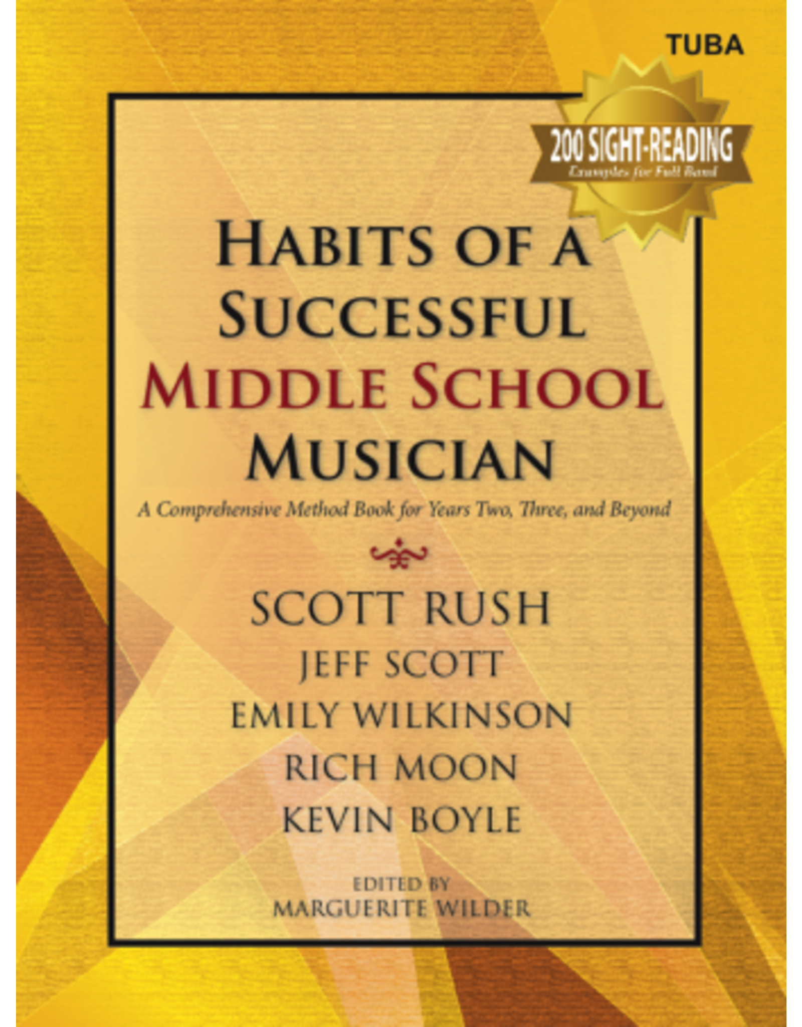 GIA Publications Habits of a Successful Middle School Musician-Tuba