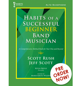 GIA Publications Habits of a Successful Beginner Band Musician Alto Sax