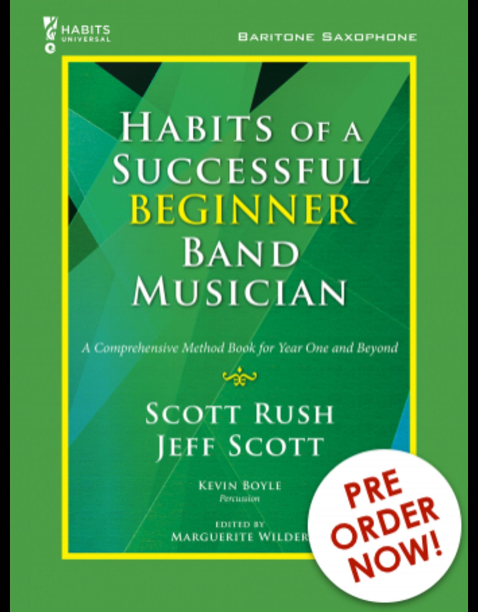 GIA Publications Habits of a Successful Beginner Band Musician Baritone Sax
