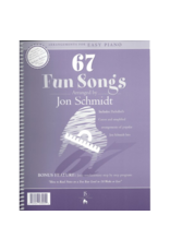 Jon Schmidt Music 67 Fun Songs Easy Piano by Jon Schmidt