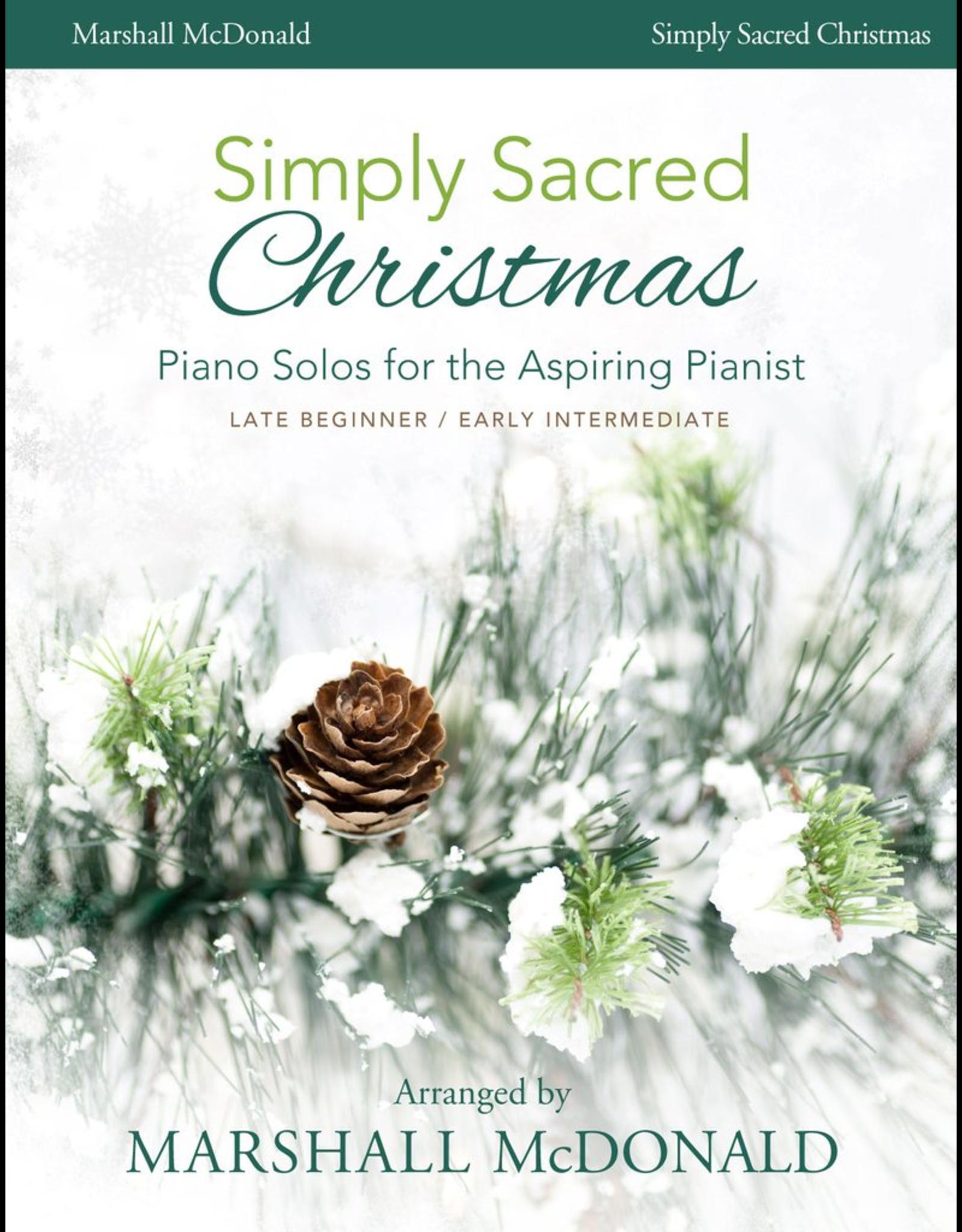 Marshall McDonald Music Simply Sacred Christmas by Marshall McDonald