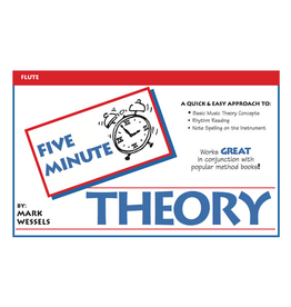 Mark Wessels Publications Five Minute Theory for Flute by Mark Wessels