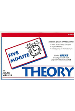 Mark Wessels Publications Five Minute Theory for Clarinet by Mark Wessels