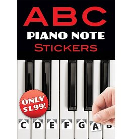 Alfred ABC Piano Note Stickers