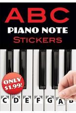 Alfred ABC Piano Note Stickers