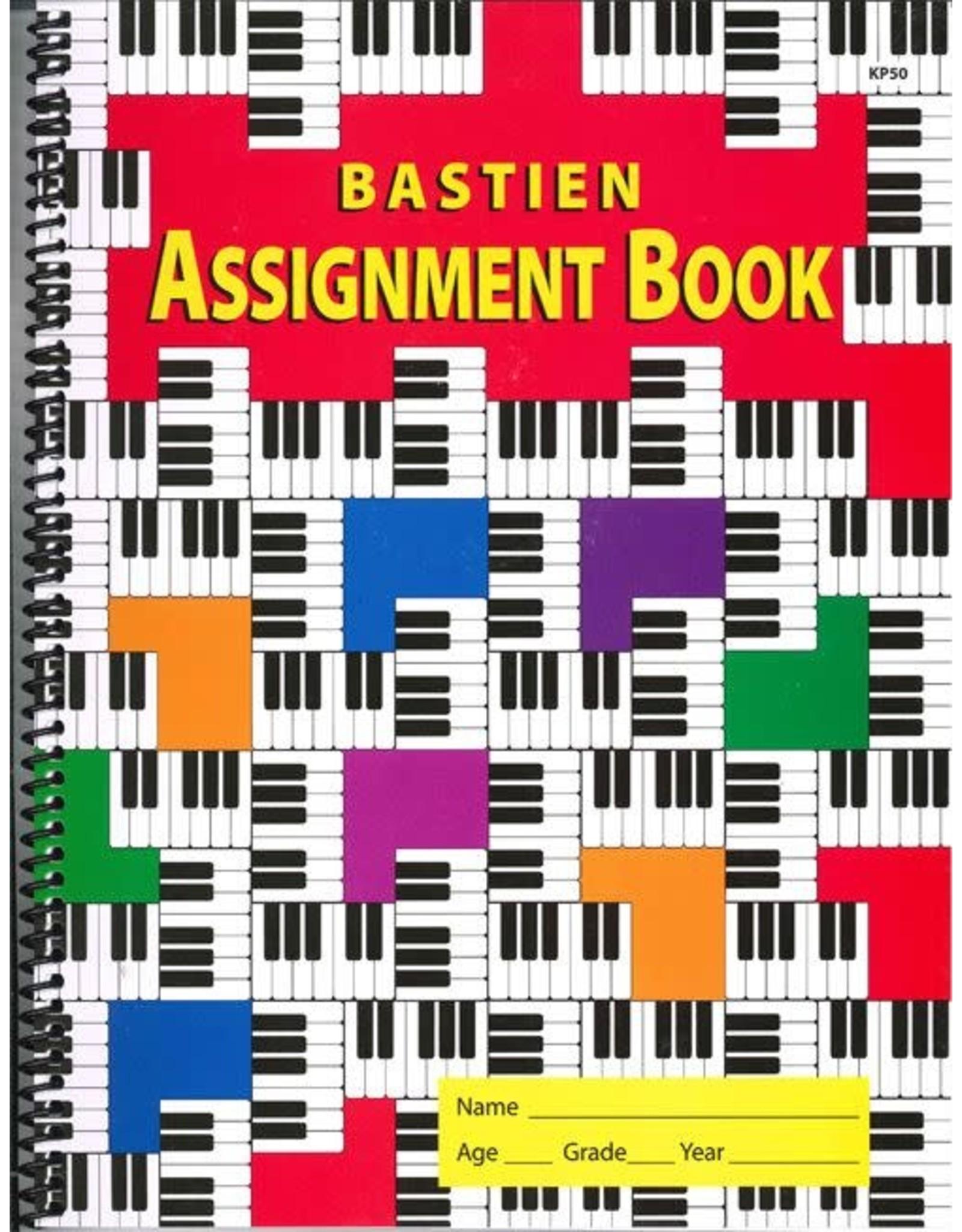 Kjos Bastien Assignment Book