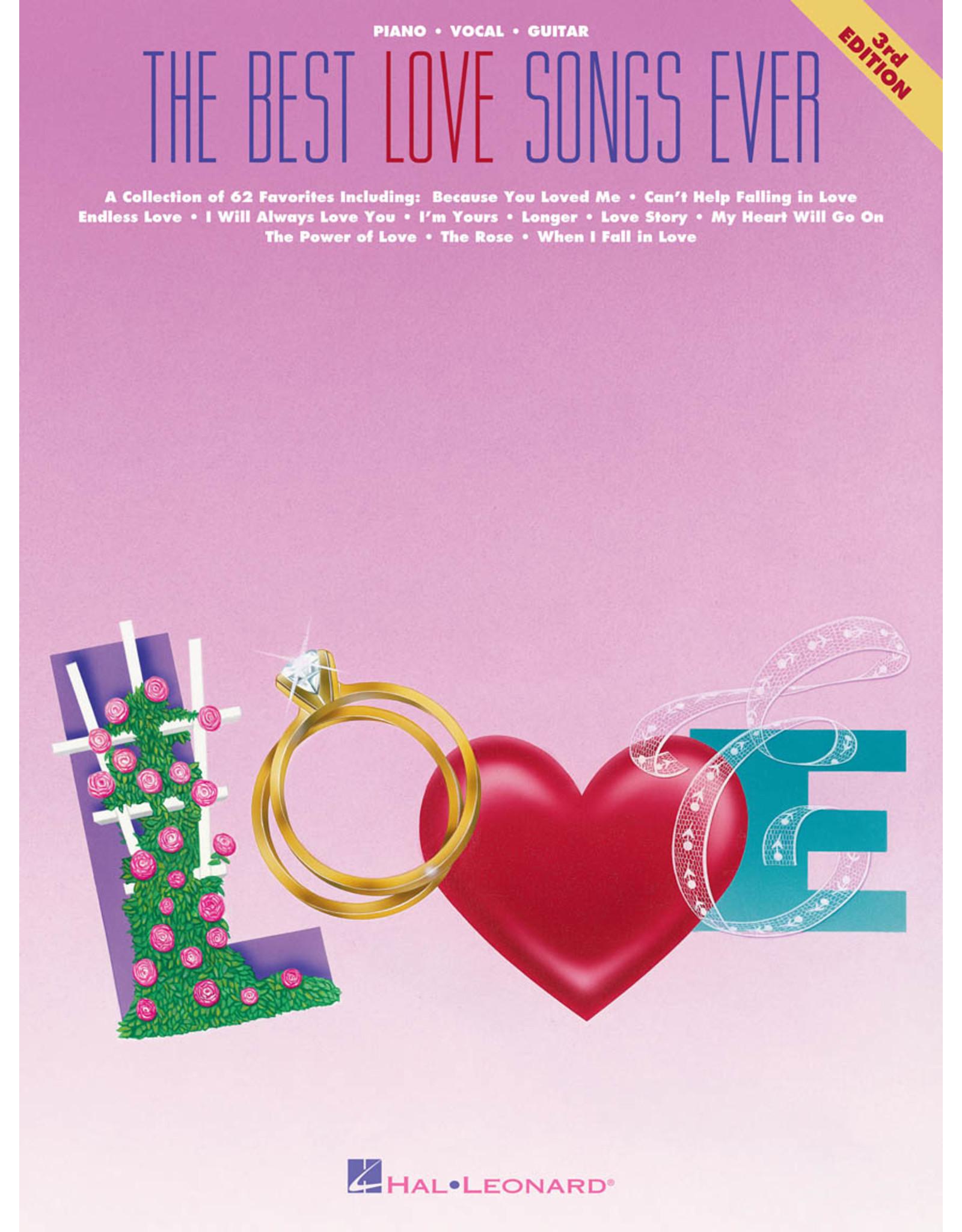 Hal Leonard Best Love Songs Ever