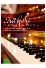 Oxford University Press John Rutter Christmas Piano Album - 8 of Rutter's Best-loved Seasonal Choral Pieces arranged for Piano