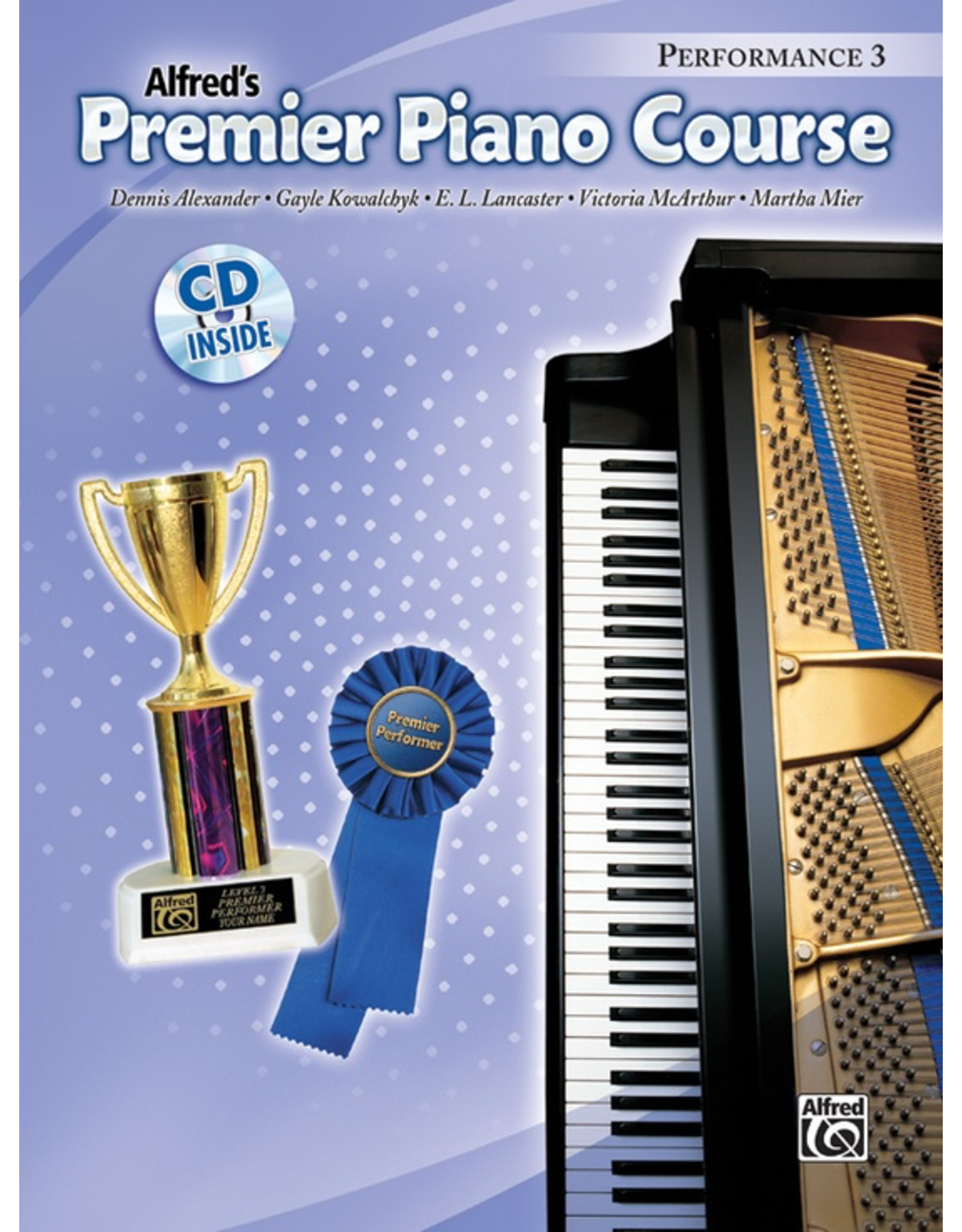 Alfred Alfred's Premier Course Performance Book 3 CD Included