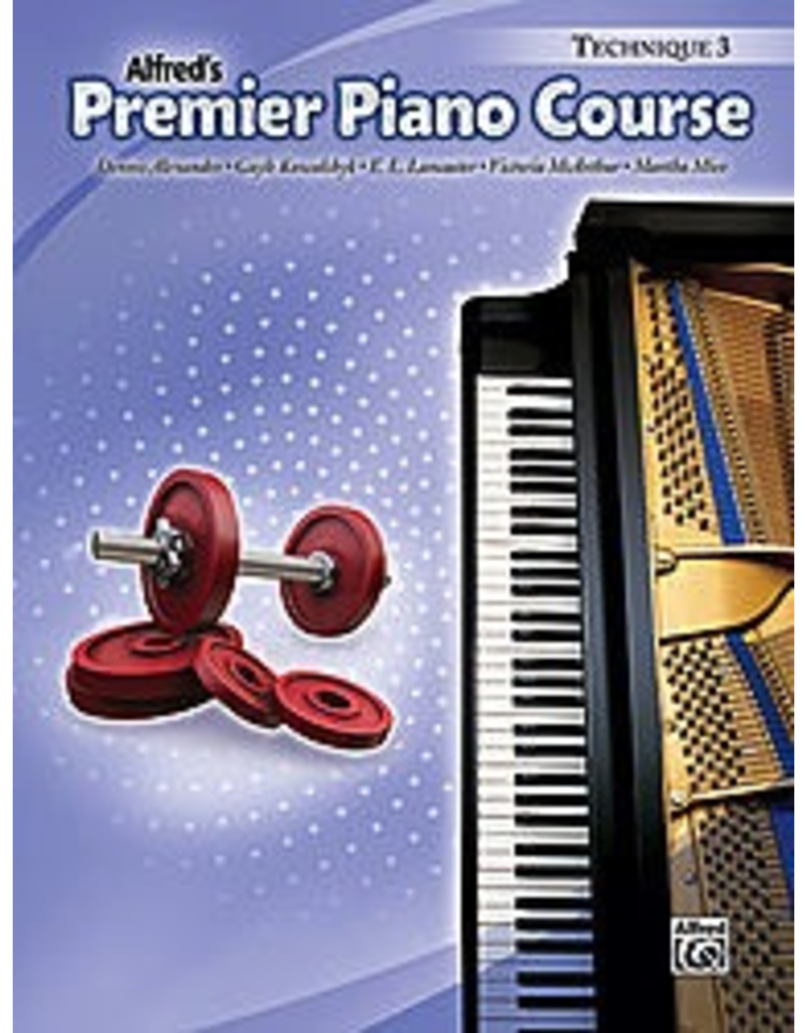 Alfred Alfred's Premier Piano Course Technique Book 3