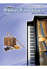 Alfred Alfred's Premier Piano Course Jazz, Rags, & Blues 3