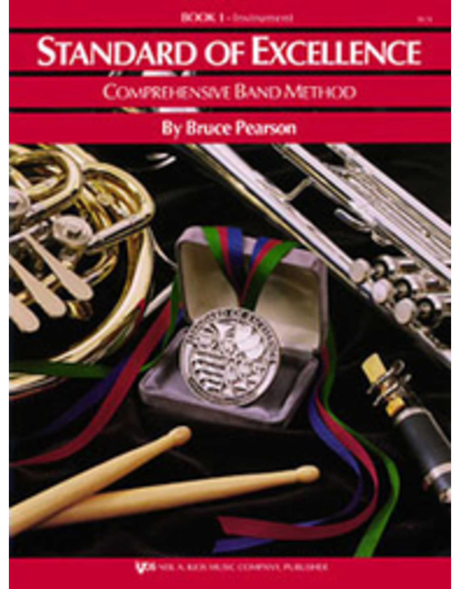 Kjos Standard of Excellence Book 1 Bari Sax