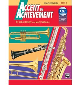 Alfred Accent on Achievement Book 2 with CD, Mallet Percussion