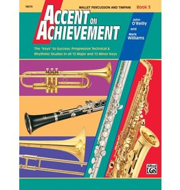 Alfred Accent on Achievement Book 3, Mallet Percussion