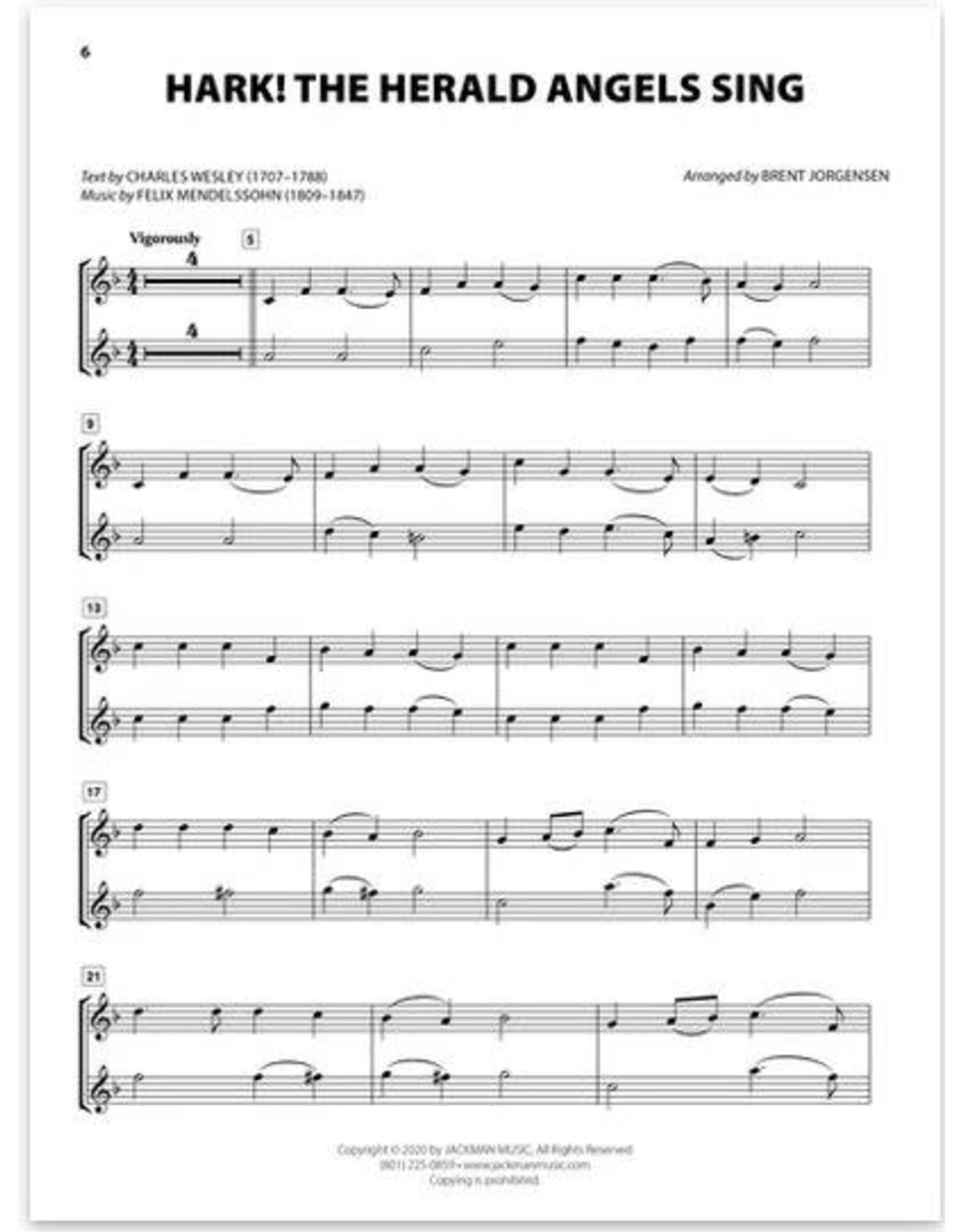 Jackman Music Christmas Hymn-Alongs - arr. Brent Jorgensen - Oboe