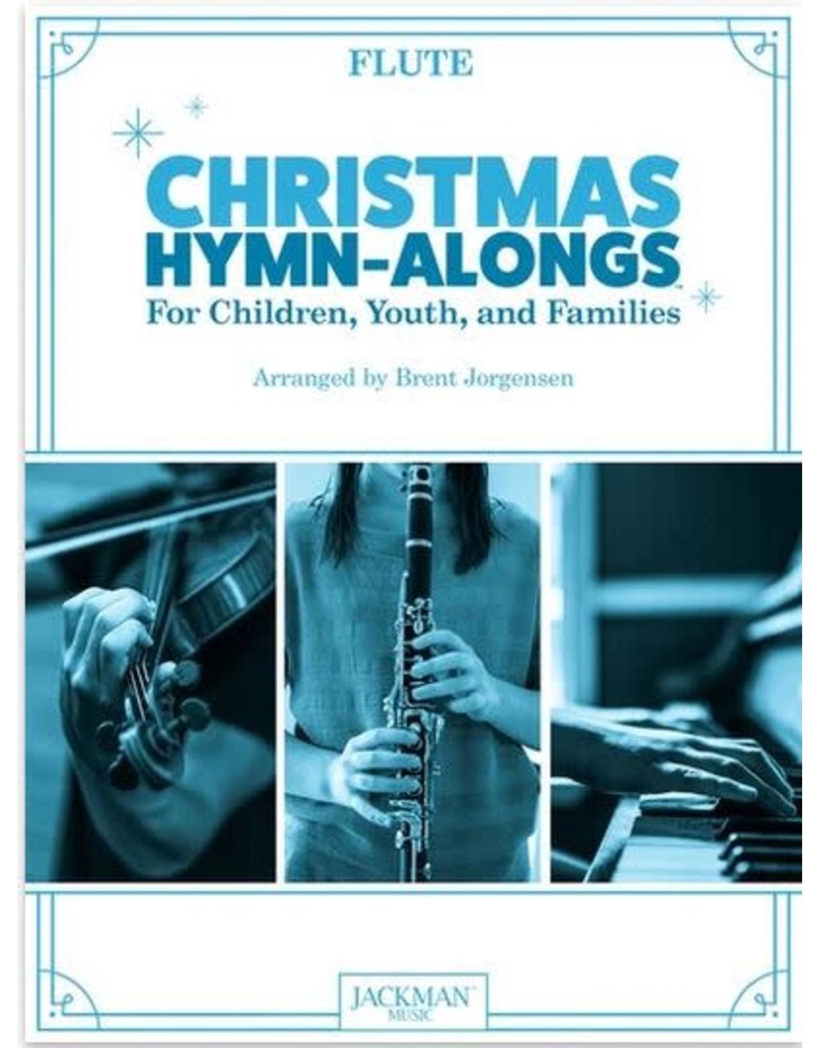 Jackman Music Christmas Hymn-Alongs - arr. Brent Jorgensen - Flute