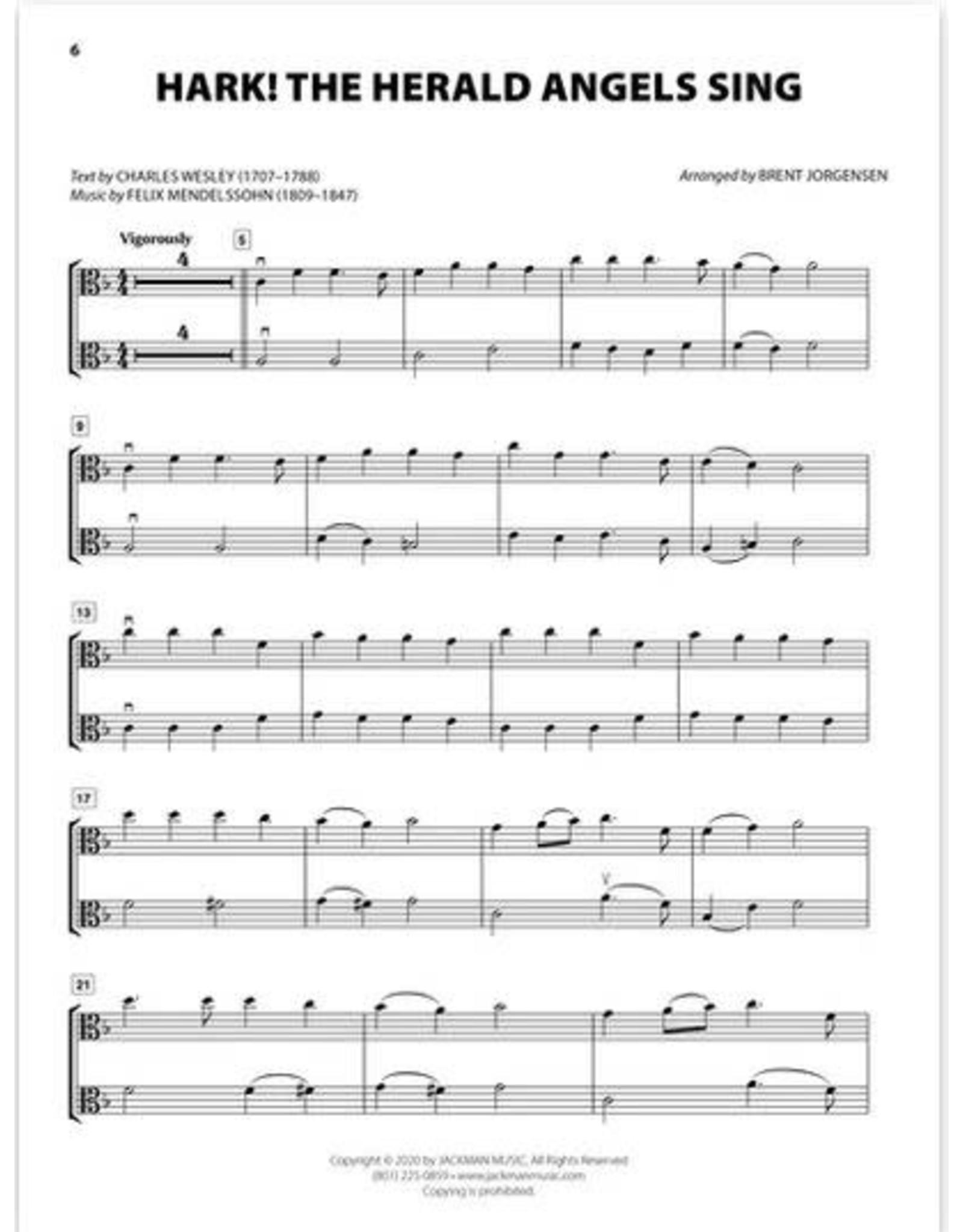 Jackman Music Christmas Hymn-Alongs - arr. Brent Jorgensen - Viola