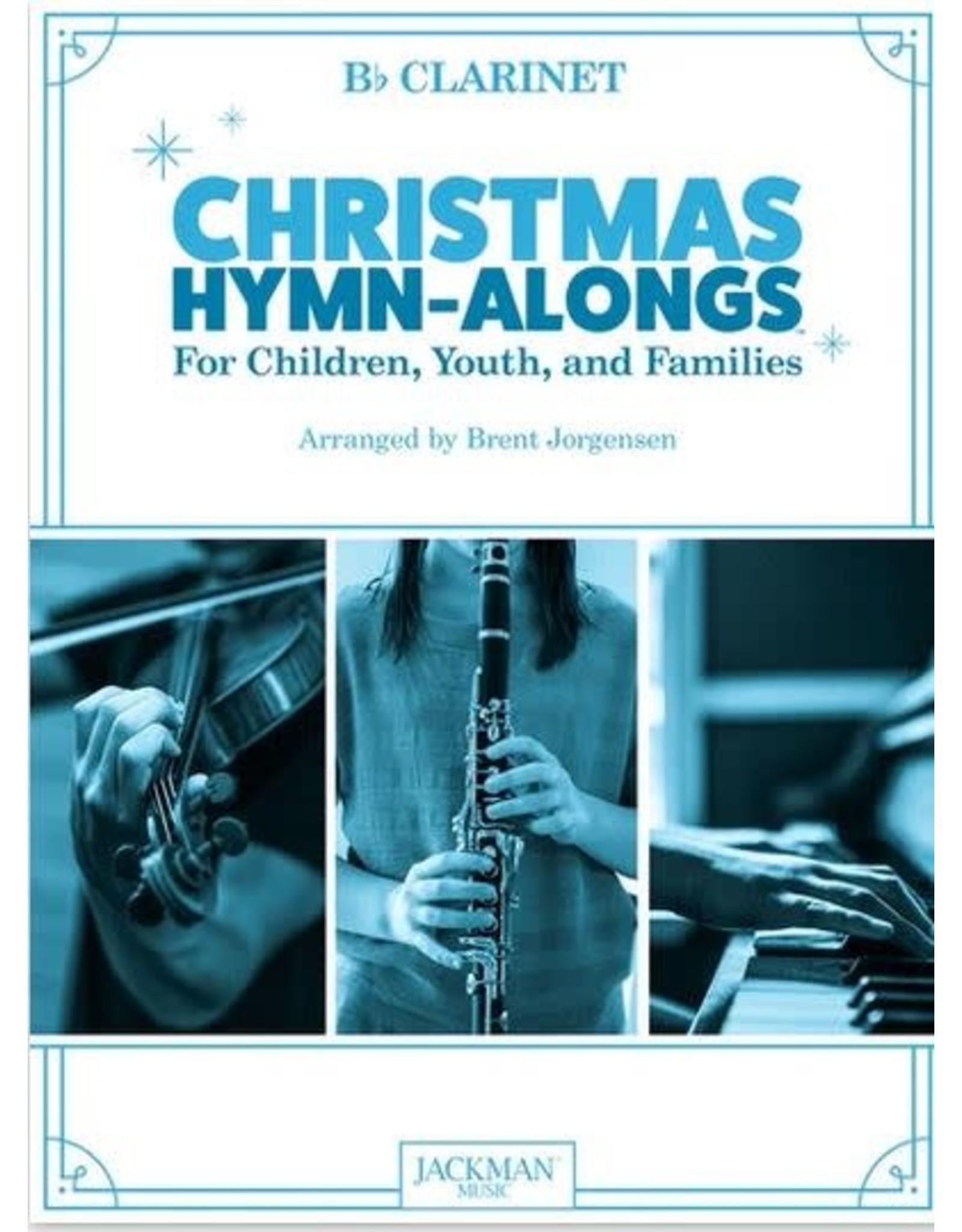 Jackman Music Christmas Hymn-Alongs - arr. Brent Jorgensen - Clarinet