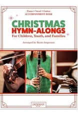 Jackman Music Christmas Hymn-Alongs - arr. Brent Jorgensen - Piano Accompaniment Book