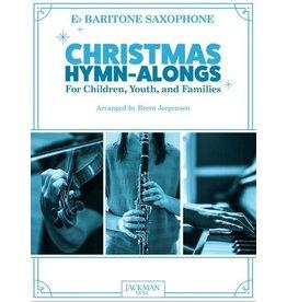 Jackman Music Christmas Hymn-Alongs - arr. Brent Jorgensen - Baritone Saxophone