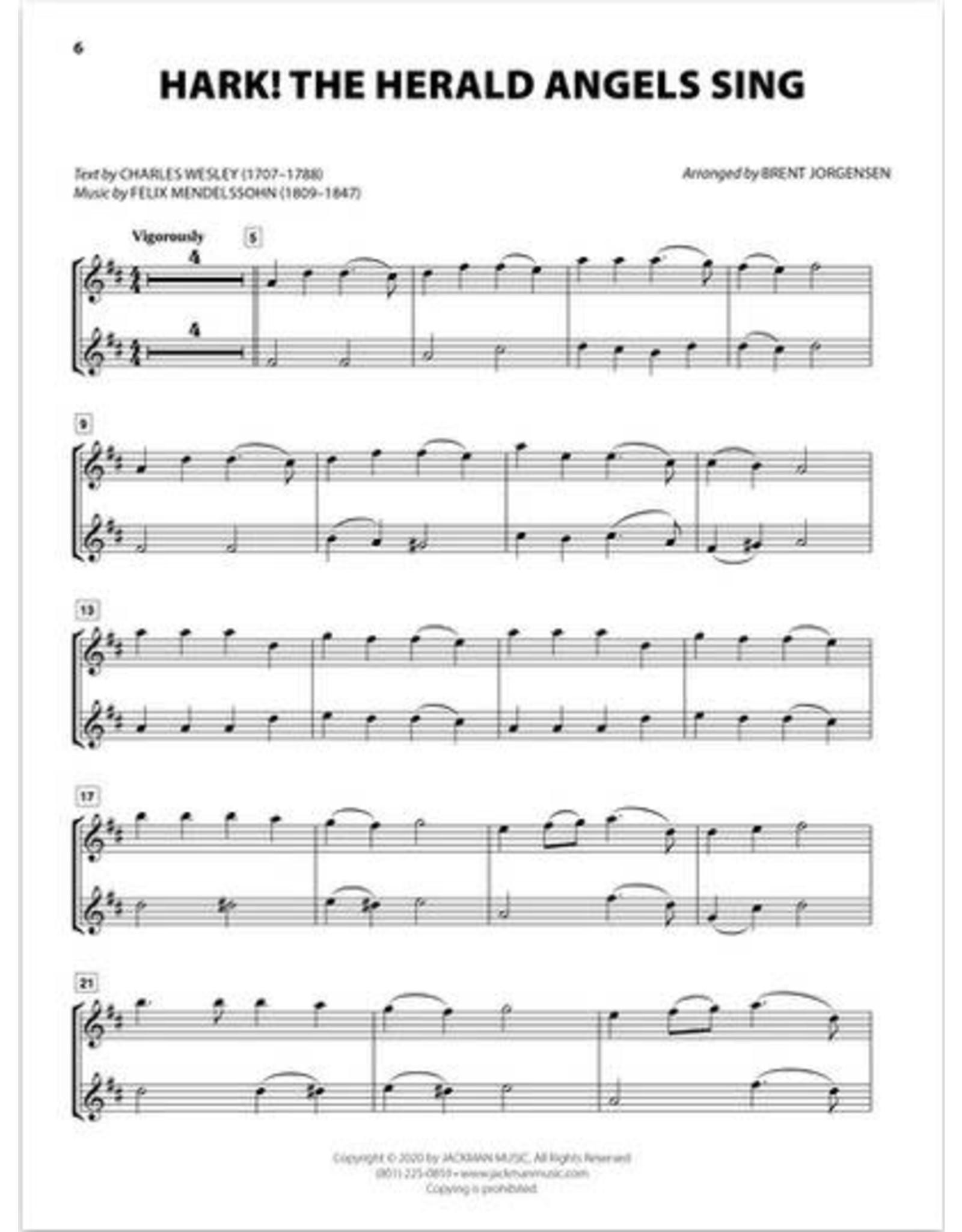 Jackman Music Christmas Hymn-Alongs - arr. Brent Jorgensen - Alto Saxophone