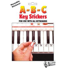 Hal Leonard ABC Keyboard Stickers
