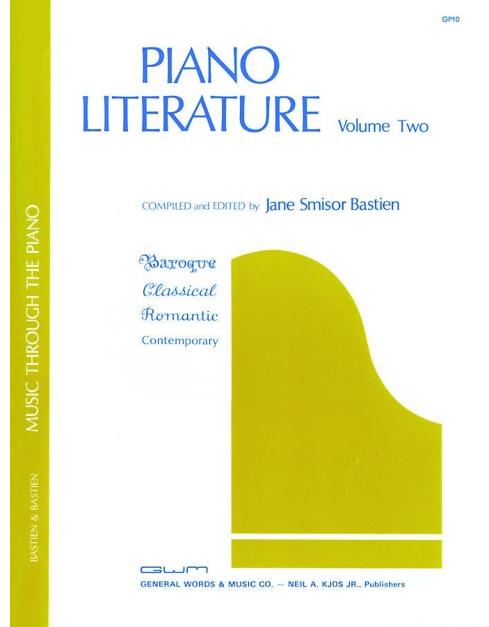 Kjos Bastien Piano Literature Volume 2