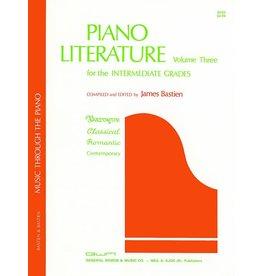 Kjos Bastien Piano Literature Volume 3