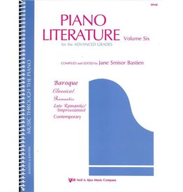 Kjos Bastien Piano Literature Volume 6