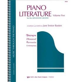 Kjos Bastien Piano Literature Volume 5