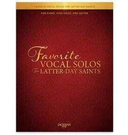 Jackman Music Favorite Vocal Solos for Latter-day Saints - High Voice