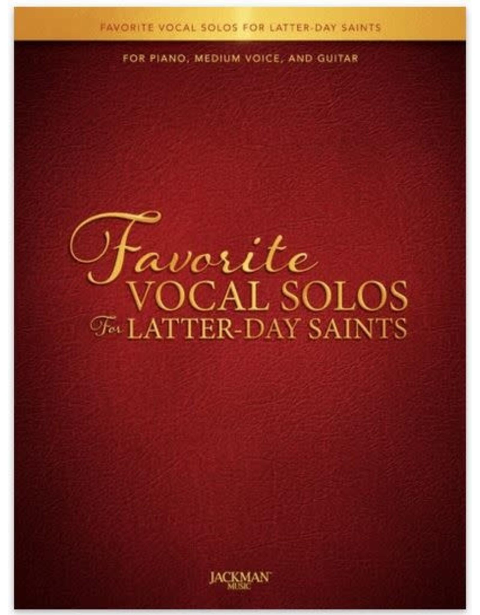 Jackman Music Favorite Vocal Solos for Latter-day Saints - Medium Voice